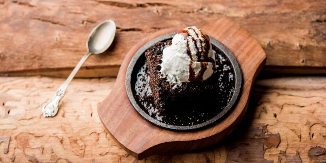 Sizzling Chocolate Brownie